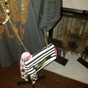 NWT Betsey Johnson Clutch and Crossbody Bag